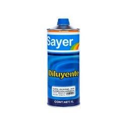 Diluyente Sayer Lack Cristal 1 Lt