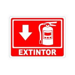 Señalamiento Extintor Incendio