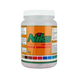 Color para Cemento Rojo Óxido marca Nika 1 Kg