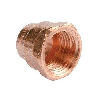 Conector Cobre Rosca Interior 19 mm ¾