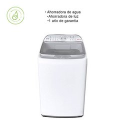 Lavadora Automática Digital Tina Acero Inoxidable 17 Kg