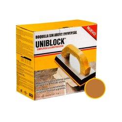 Boquilla sin Arena Uniblock 5 kg Café Claro