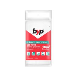 Plasti Protector Byp Uso Rudo 10 m2