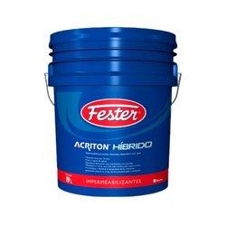 Impermeabilizante acril poliuret Fester Acriton Hibrido bco 19L