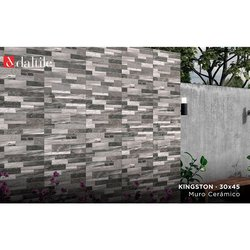 Muro Fachada Kingston Daltile 30 x 45 cm Gray ZKG2