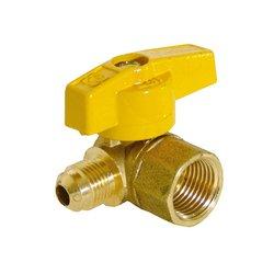 Llave Gas Control Angular 1/2 x 3/8 pulg Flare