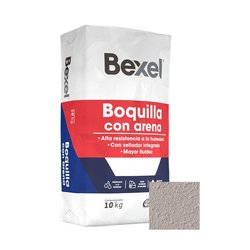 Boquilla con Arena Bexel 10 kg Gris Perla