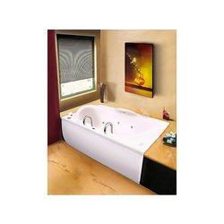 Tina Caspio Formacryl 180 x 110 x 50 cm Blanca con Hidromasaje