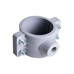 Abrazadera PVC Hidráulica 2½ x ½ pulg