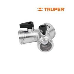 Adaptador Y Truper 2 mangueras Aluminio AD-2