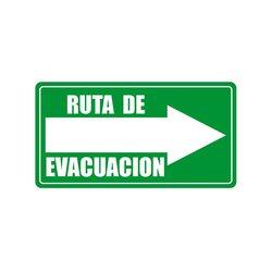 Señalamiento Ruta Evacuación Derecha