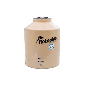 Tinaco Rotoplas Beige 1100 l 1.10 x 1.39 m Beige