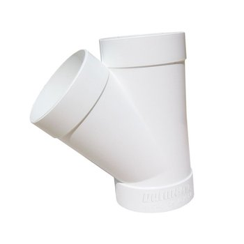 Yee PVC Sanitario 4 x 4 100 x 100 mm