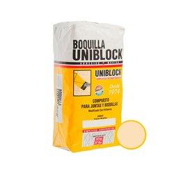 Boquilla con Arena Uniblock 10 kg Beige