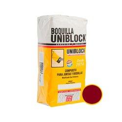 Boquilla con Arena Uniblock Rojo Saltillo 10 kg
