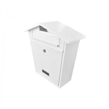 Buzón Handy Home Acero Galvanizado 37 x 36 x 13 cm Blanco