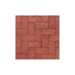 Adoquín Titán Mextile 22.5 x 11.25 x 6 cm Rojo Rubí