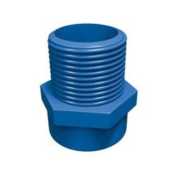 Conector CPVC Azul Rosca Exterior 19 mm Flowguard Gold
