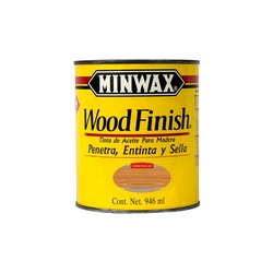 Mancha Aceite Wood Finish Minwax Golden Pecan 1 Lt
