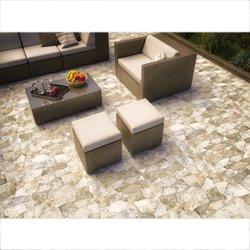 Piso Menhir Daltile 34 x 50 cm Café