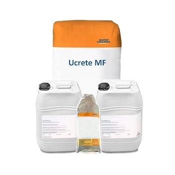 Recubrimiento autonivelante poliuretano pisos Ucrete MF 4 comp.
