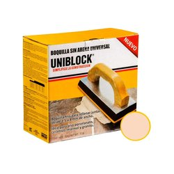 Boquilla sin Arena Uniblock 5 kg Marfil