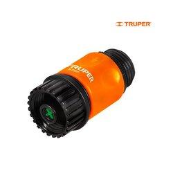 Conector Plástico Truper Sistema Click 3/4 pulg