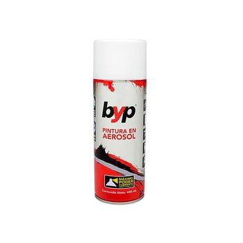 Pintura Aerosol Byp Blanco Brillante 400 mL