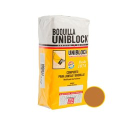 Boquilla con Arena Uniblock Café Claro 10 kg
