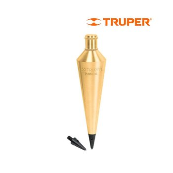 Plomada Truper Latón Triangular 340 Gr