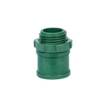 Cople Conduit PVC Pesado ½ pulg Verde