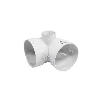 Codo PVC Sanitario 4 x 2 Salida Lateral 90 Grados 100 x 50 mm