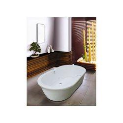 Tina Zen Formacryl 182x105.5x46 cm Blanco con Hidro Faldón