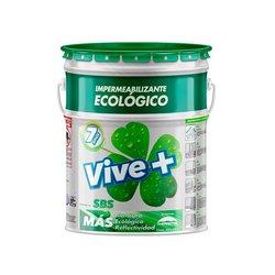 Impermeabilizante Acrílico SBS Vive Más 19 Lt