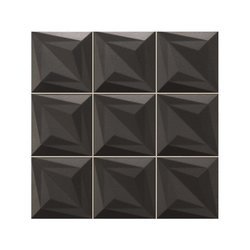 Mosaico Delta 33 x 33 cm Negro Tiles 2000