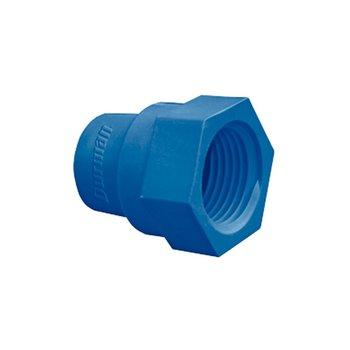 Conector CPVC Azul Rosca Interior 19 mm Flowguard Gold