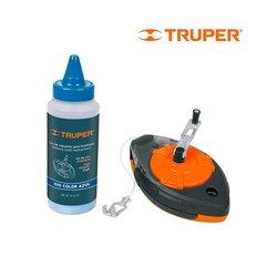 Tiralínea Plástico Gis Truper 30 m TL-100