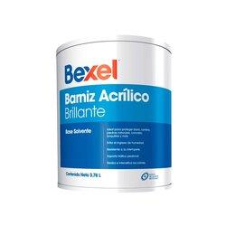 Barniz Acrílico Bexel Brillante 4 Lt