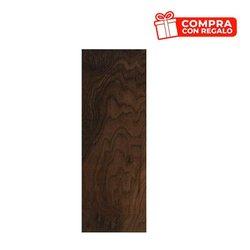 Piso black walnut Daltile 18 x 50 cm Moka ZDM4