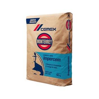 Cemento Cemex Impercem Gris 50 kg
