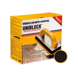 Boquilla sin Arena Uniblock 5 kg Negro