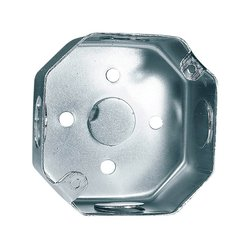 Caja Octagonal Galvanizada Reforzada 3 x 3 pulg