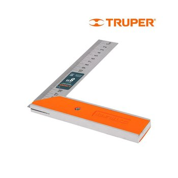 Escuadra Carpintero Truper 8 pulg