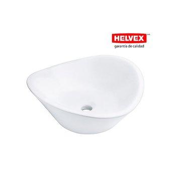 Lavabo Helvex Sobreponer sin Rebosadero Lv Cassini