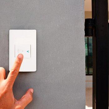Placa 1 Apagador Timbre Blanco marca Lucek