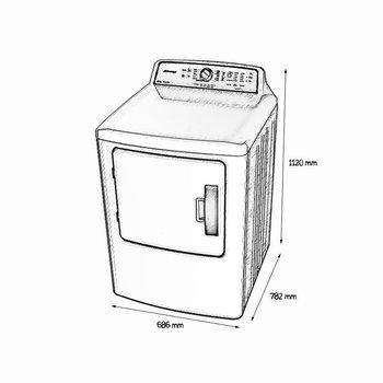 Secadora Automática 22 Kg