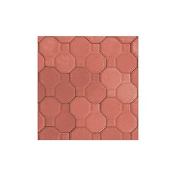 Adoquín Aries Mextile 23.8 x 12 x 6 cm Rojo Rubí