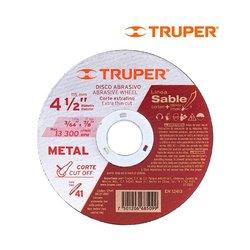Disco de Corte Extrafino 4 1/2 Truper