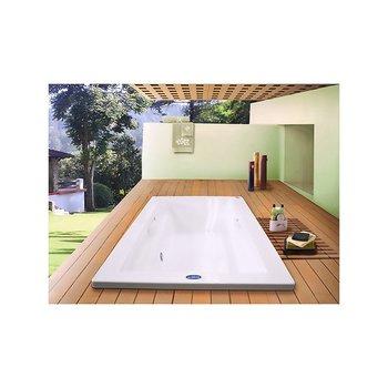 Tina Art Deco Lujo Formacryl 180x120x441.5 cm Blanco con Hidro