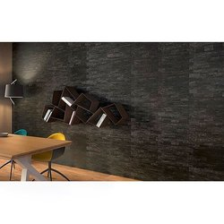 Muro Stonefort Daltile 34 x 45 cm Black